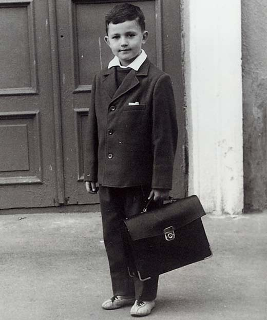 Дмитрий Дибров в детстве