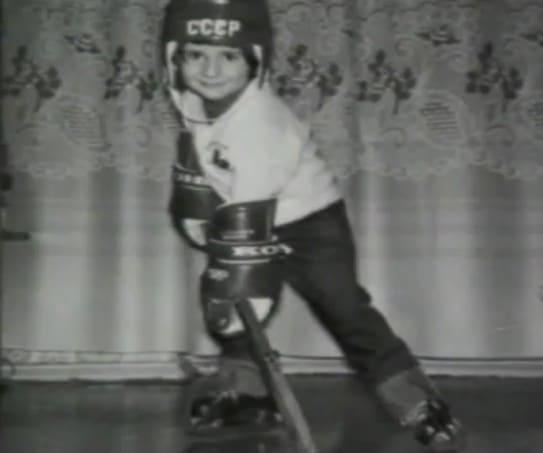 Валерий Харламов в детстве