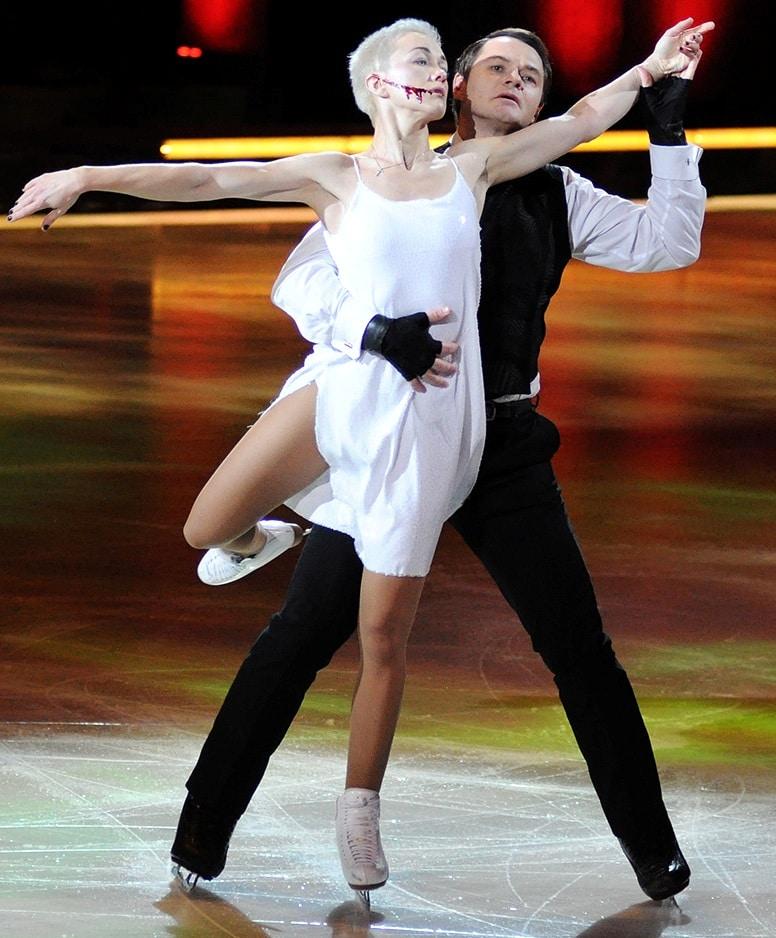 Дарья Мороз в шоу «Ледниковый период»
