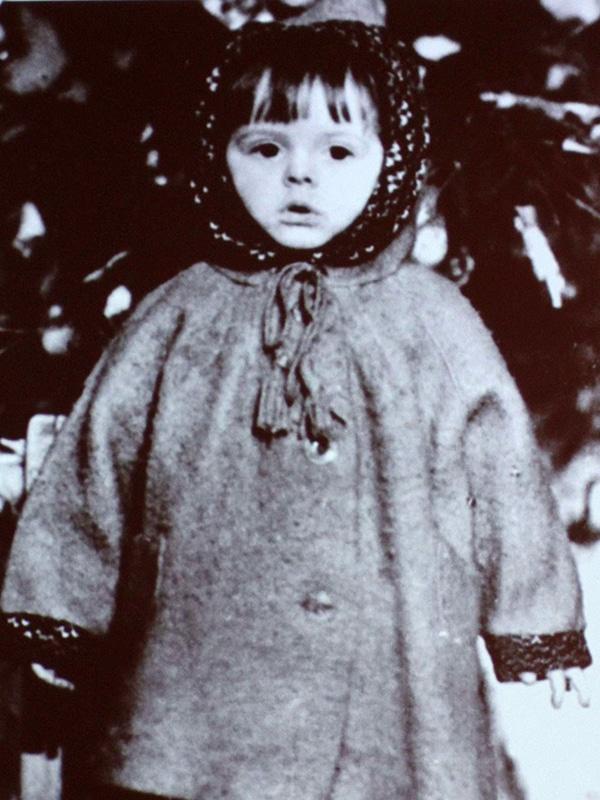 Клара Новикова в детстве