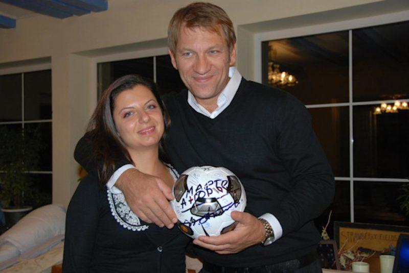 Маргарита Симоньян и ее муж Андрей Благодыренко