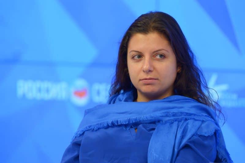 "Маргарита Симоньян главный редактор ""Russia Today"""