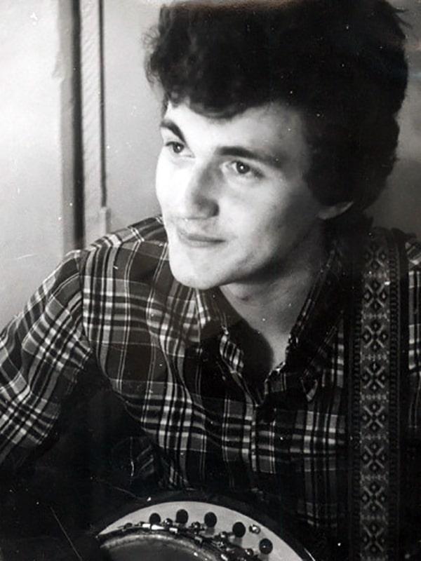 Дмитрий Дибров в юности