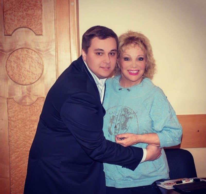 Екатерина Шаврина с сыном