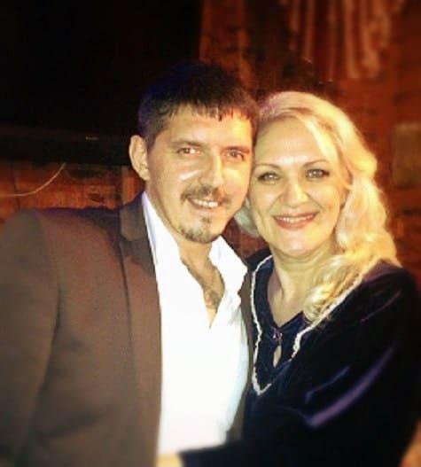 Аркадий Кобяков с женой Ириной Тухбаевой