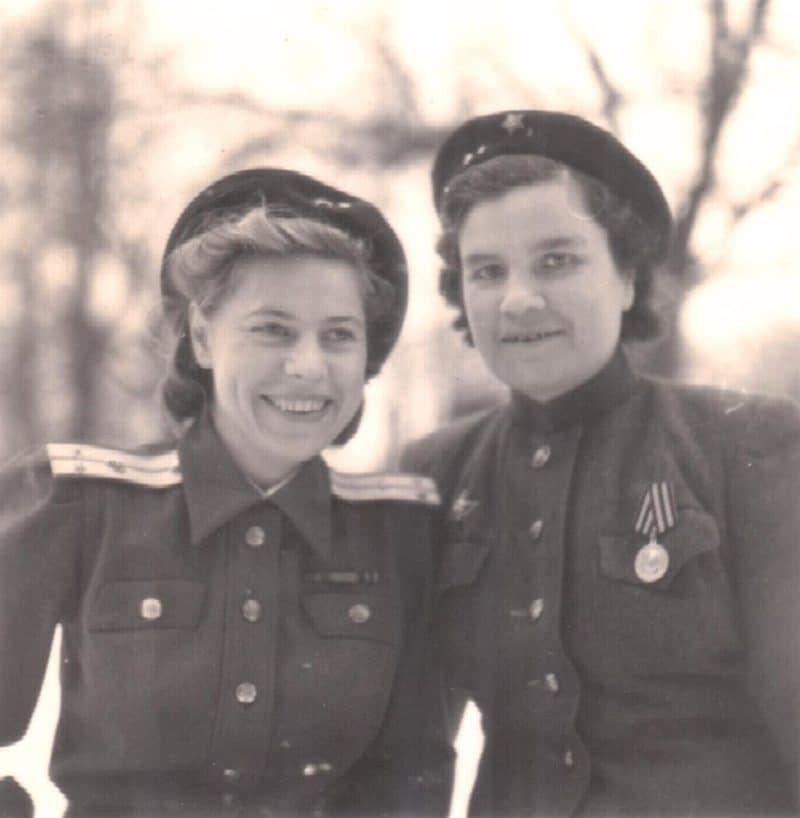 Юлия Друнина в военные годы