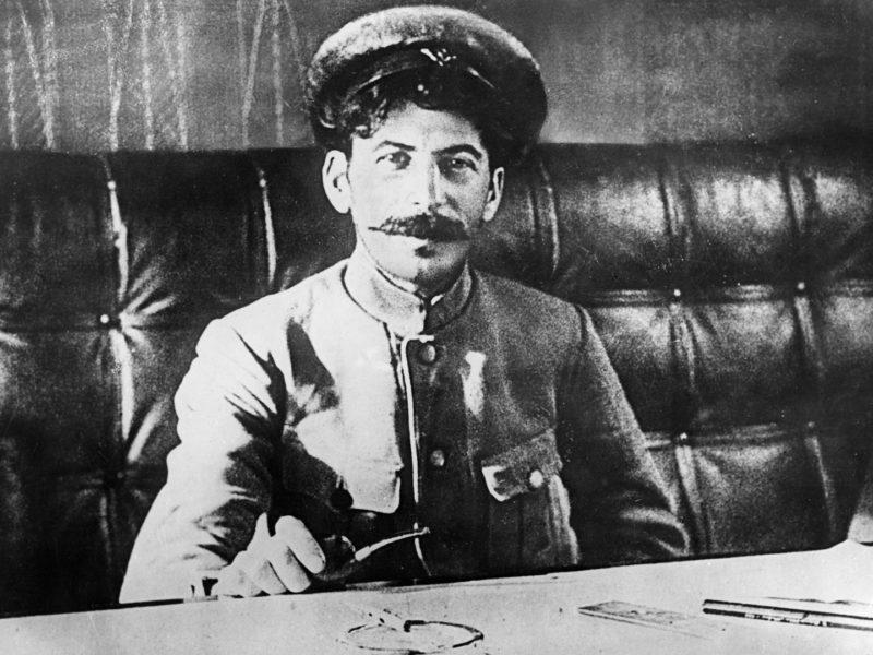 Иосиф Сталин в начале пути