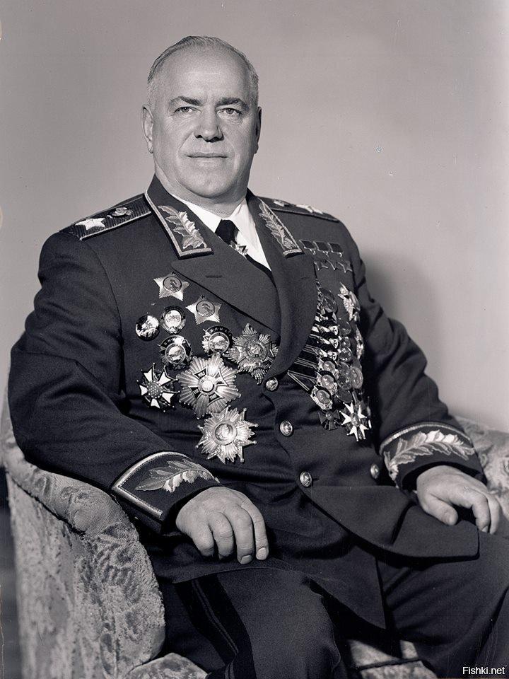 Георгий Жуков в звании Маршала