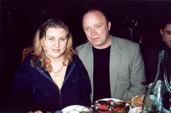 Катя Огонек и Левон Коява
