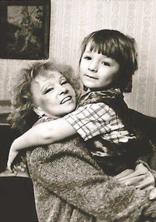Людмила Гурченко с внуком Марком