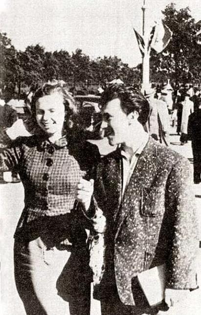 Владимир Высоцкий с первой женой Изой Жуковой