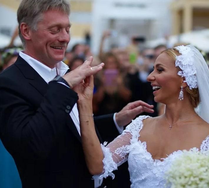 Свадьба Пескова с Навкой