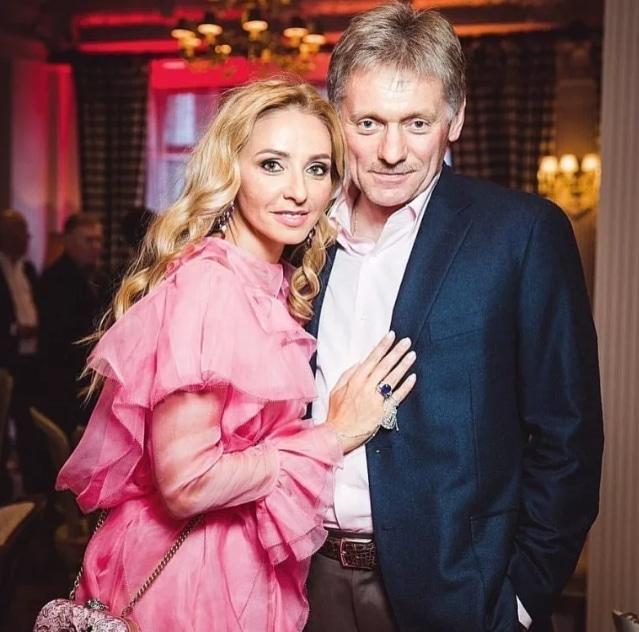 Дмитрий Песков с Татьяной Навкой