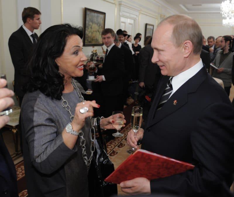 Надежда Бабкина с Путиным