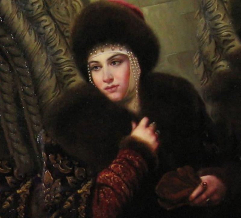 Анна Васильчикова 6 жена Ивана Грозного
