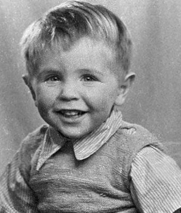 Стивен Хокинг в детстве