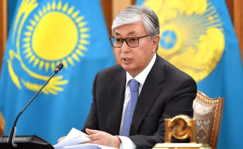 Президент Казахстана Токаев Касымжомарт