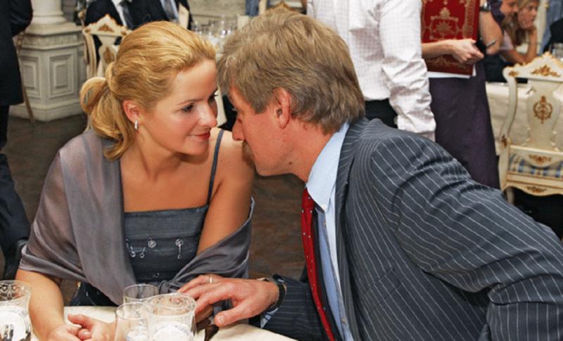 Дмитрий Песков и Екатерина Солоцинская