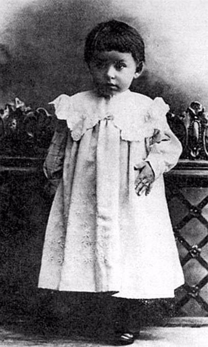 Иван Бунин в детстве