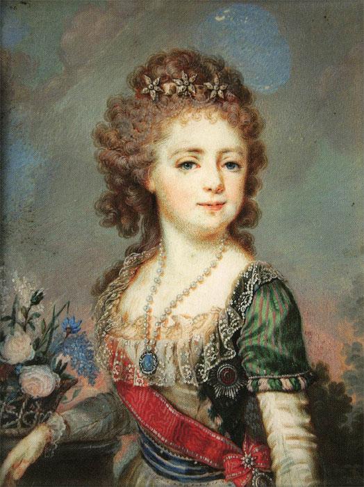 Портрет Екатерины 2 в детстве
