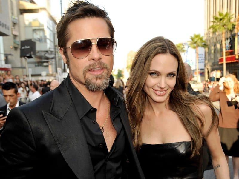 Анджелина Джоли с Брэдом Питтом