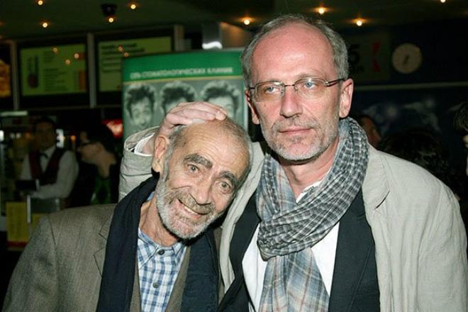 Александр Гордон с отцом Гарри Гордоном