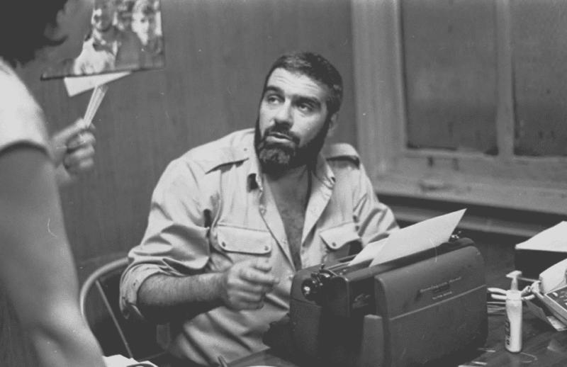 Сергей Довлатов на работе в Нью-Йорке