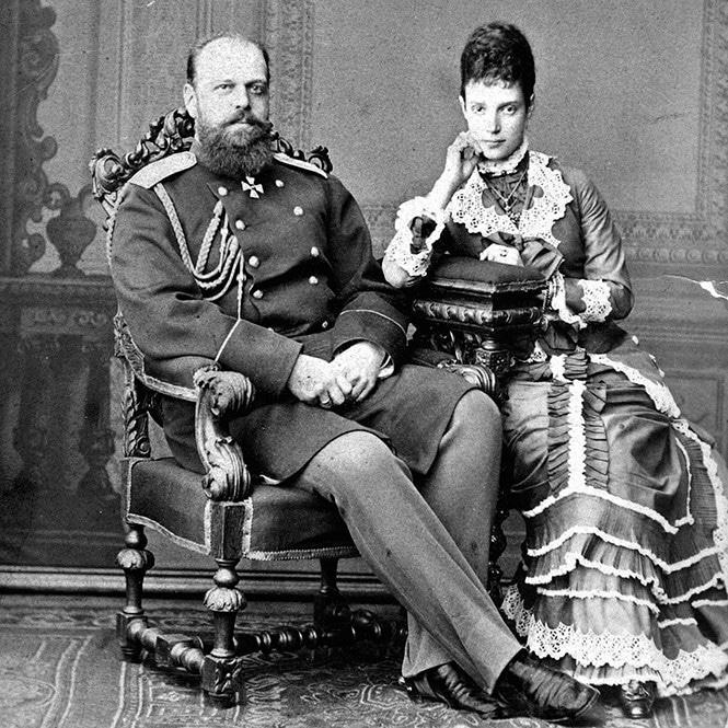 Александр 3 с Марией-Софьей-Фредерикой