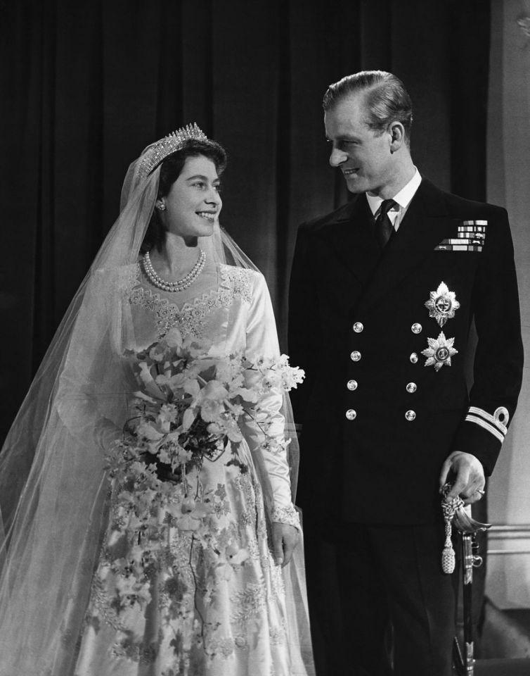Свадьба Елизаветы II с Филиппом Маунтбеттеном