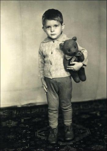 Леонид Брежнев в детстве
