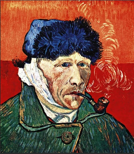 Отрезанное ухо Винсента Ван Гога