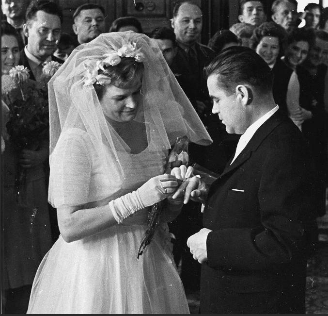 Свадьба Валентины Терешковой с Юлием Шапошниковым