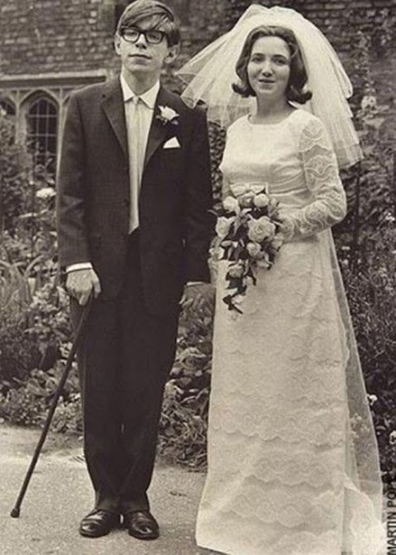 Свадьба Стивена Хокинга с Джейн Уайльд