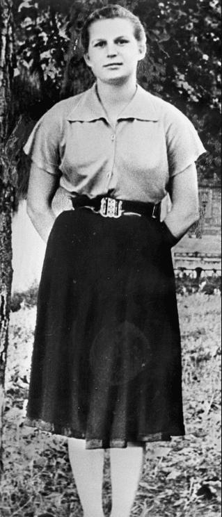 Валентина Терешкова в детстве