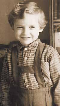 Александр Васильев в детстве