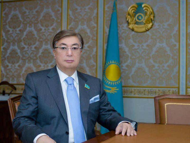 Токаев Касымжомарт на должности председателя Сената парламента