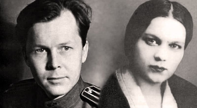 Александр Твардовский и Мария Горелова