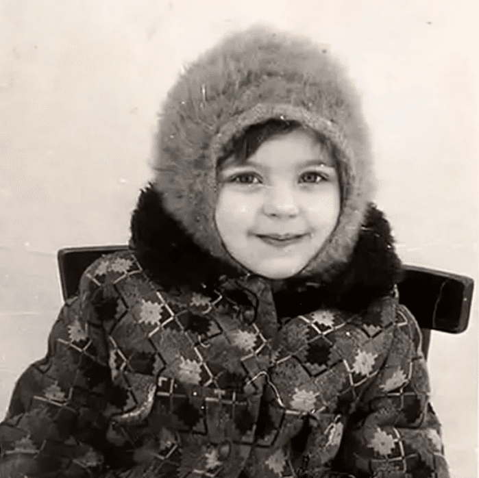 Ирина Пегова в детстве