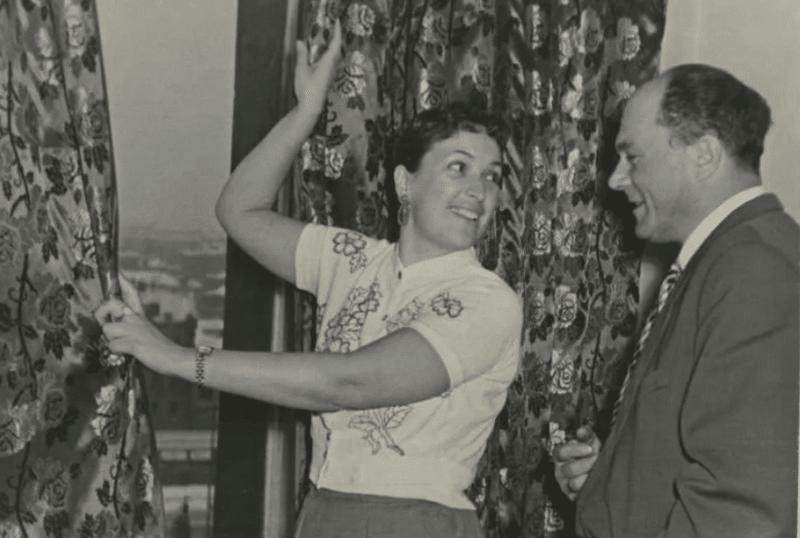Клара Лучко с первым мужем Сергеем Лукьяновым