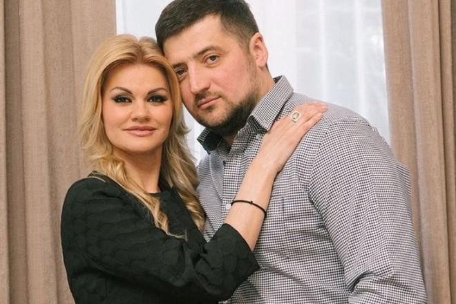Ирина Круг с третьим мужем