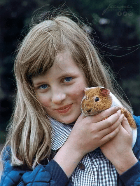Принцесса Диана в детстве