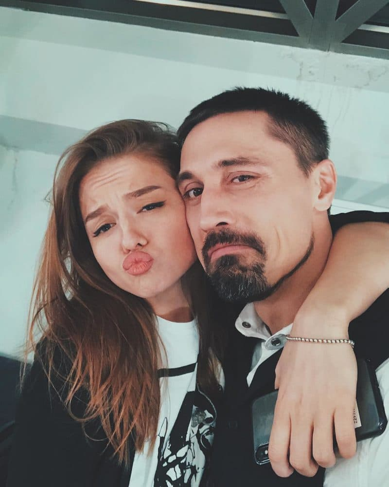 Дима Билан с Юлией Терещенко
