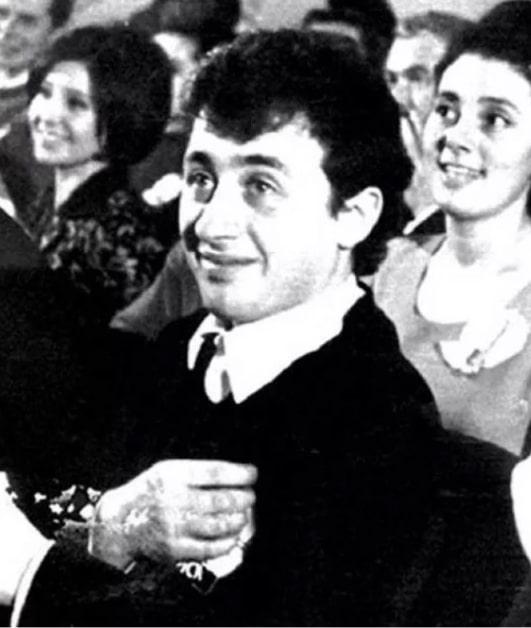 Леонид Якубович в молодости