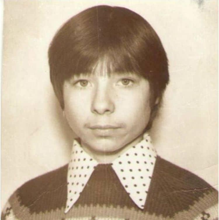 Сергей Зверев в детстве