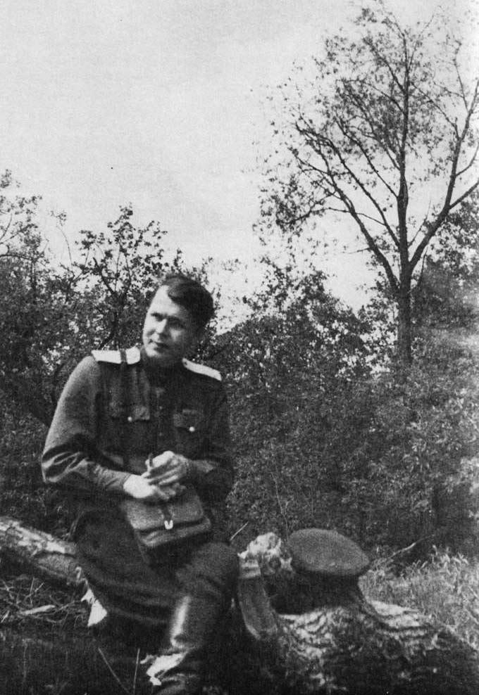 Александр Твардовский в военное время