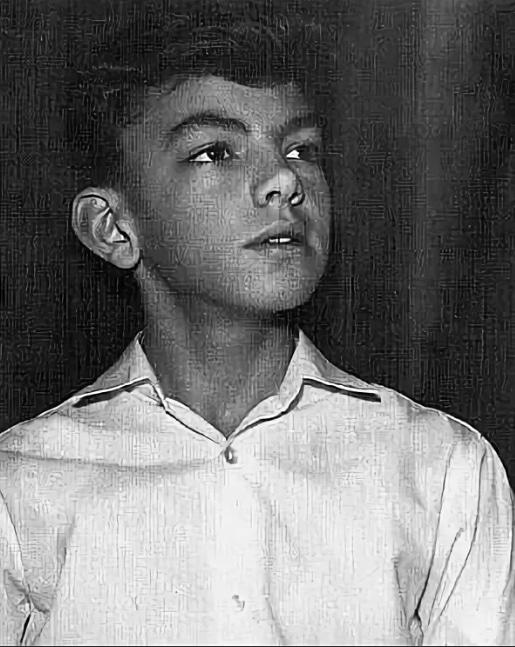 Сергей Захаров в детстве