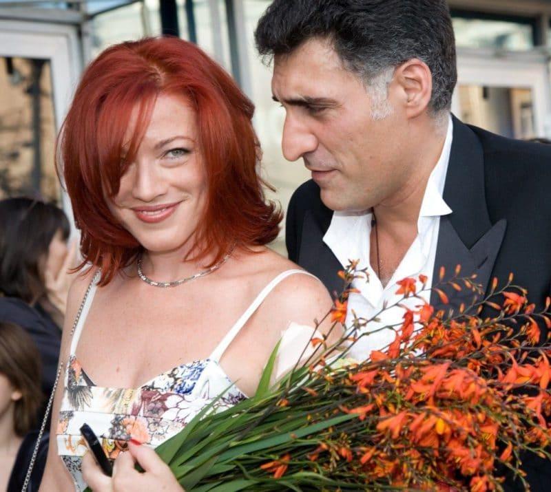 Тигран Кеосаян с Аленой Хмельницкой