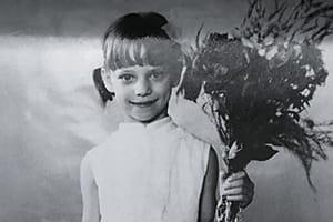 Ирина Салтыкова в детстве