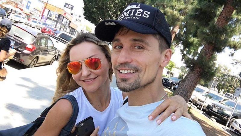 Дима Билан с Юлией Лима