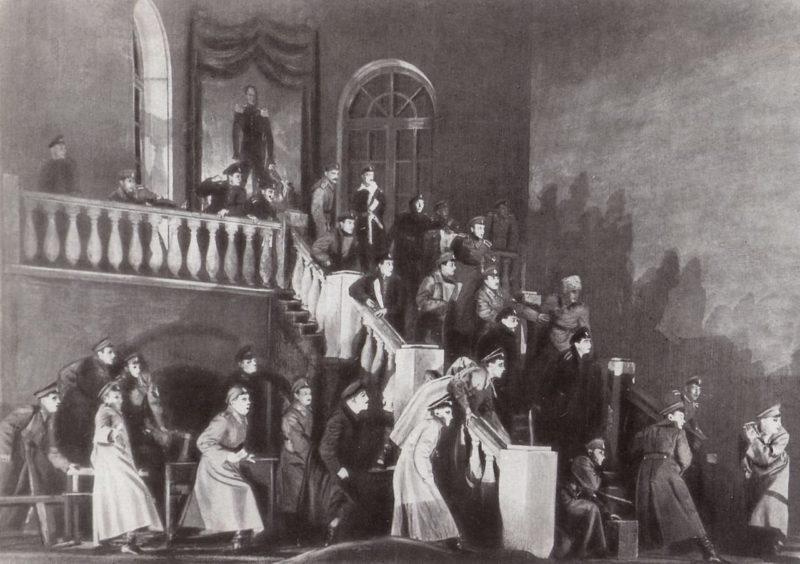 Премьера пьесы дни Турбиных в 1926 поставленная Булгаковым